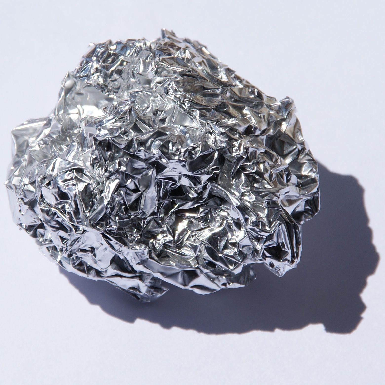 hauchdünne Aluminiumfolie