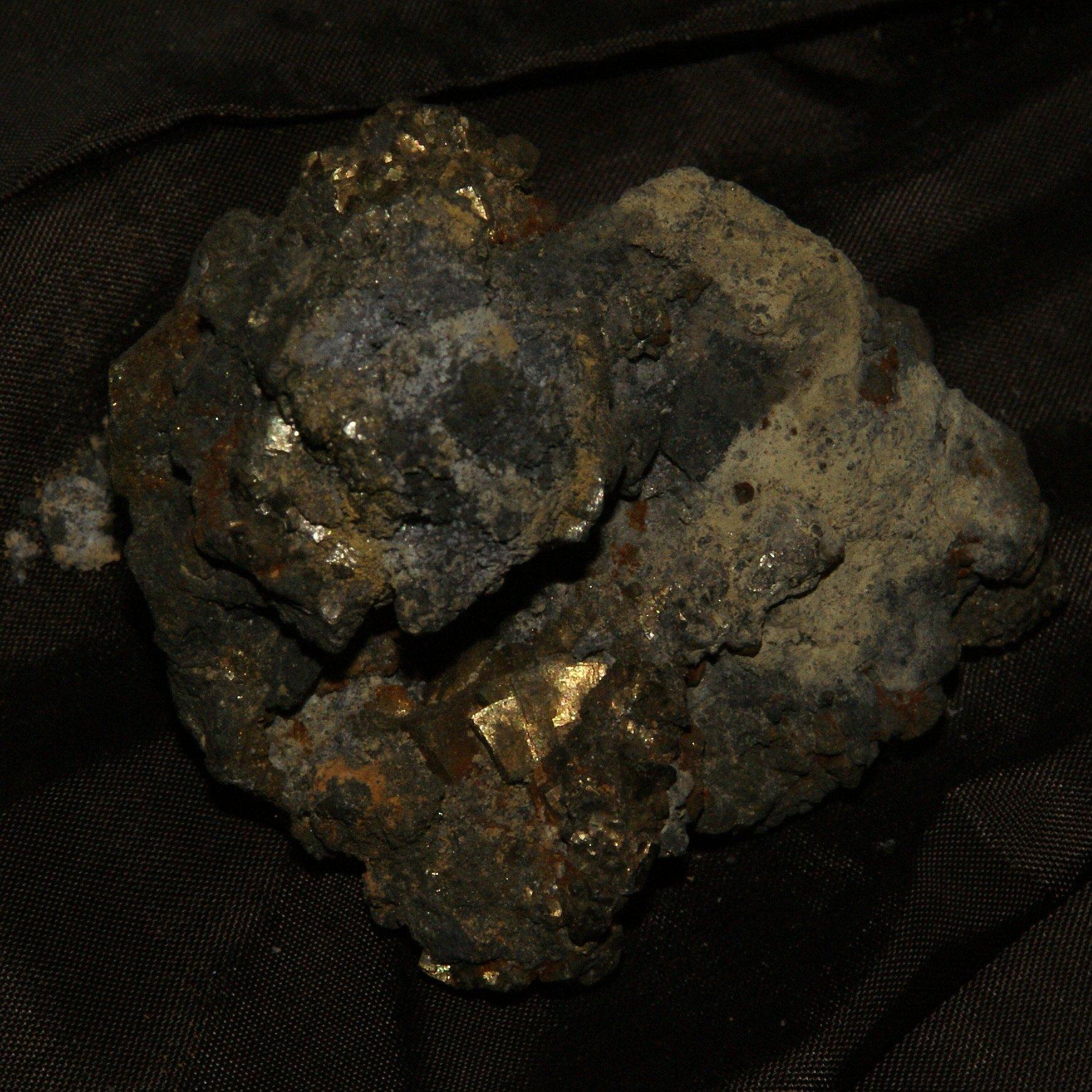 Медная руда, музей Санта-Клара Нова, Альмодовар, Португалия.