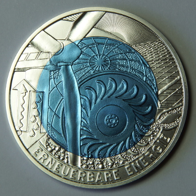 25 Euro coin 'Renewable Energy'